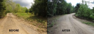 Before and After Road